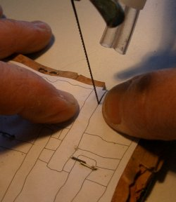 Cutting is very precise and requires dexterity, habit, and precision.