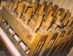 Press sawn timber